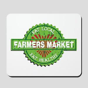 Farmers Market Heart Mousepad