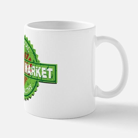 Farmers Market Heart Mug