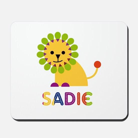 Sadie the Lion Mousepad