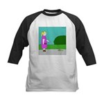 Unicorn (no text) Kids Baseball Jersey