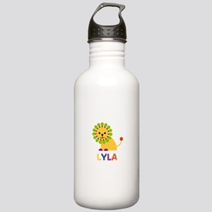 Lyla the Lion Stainless Water Bottle 1.0L