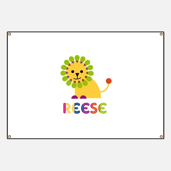 Reese the Lion Banner