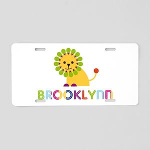Brooklynn the Lion Aluminum License Plate