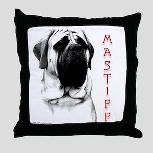 Mastiff 107 Throw Pillow