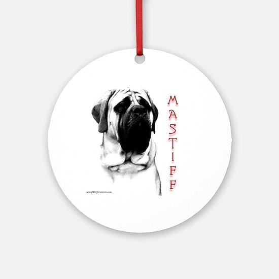 Mastiff 107 Ornament (Round)