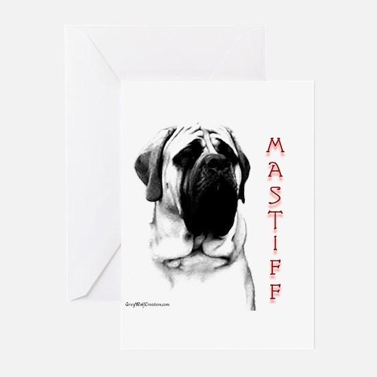Mastiff 107 Greeting Cards (Pk of 10)