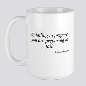 Benjamin Franklin quote 30 Large Mug