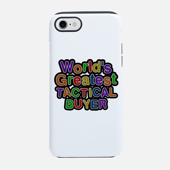 World's Greatest TACTICAL BUYER iPhone 7 Tough Cas