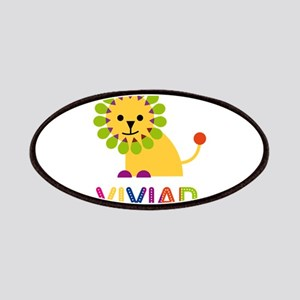 Vivian the Lion Patches