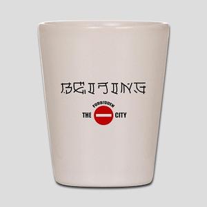 Beijing Forbidden City Shot Glass