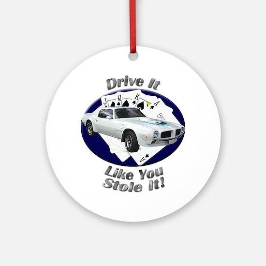 Pontiac Trans Am Super Duty Ornament (Round)