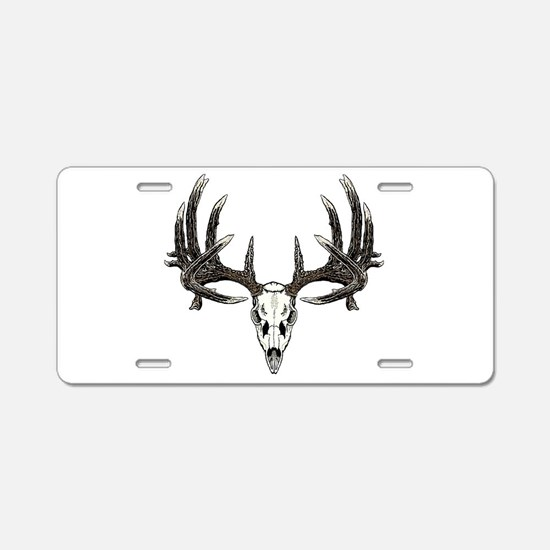 Big whitetail buck Aluminum License Plate