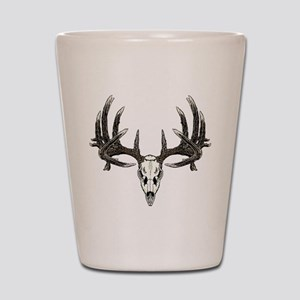 Big whitetail buck Shot Glass