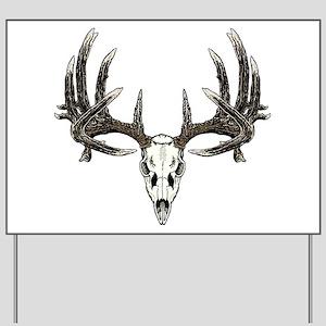 Big whitetail buck Yard Sign