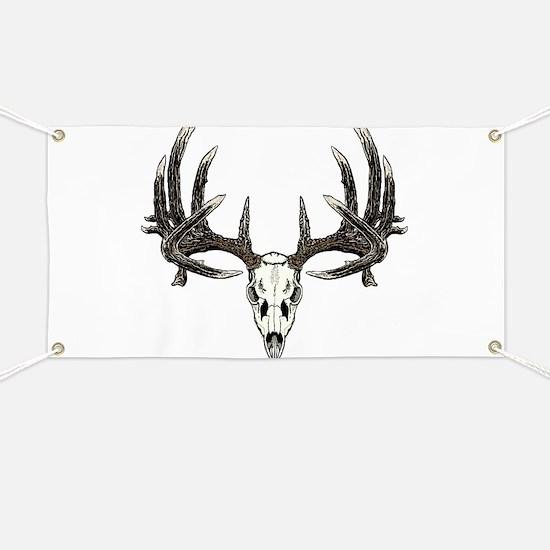 Big whitetail buck Banner