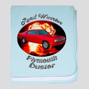 Plymouth Duster baby blanket