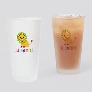 Julianna the Lion Drinking Glass