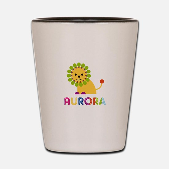 Aurora the Lion Shot Glass