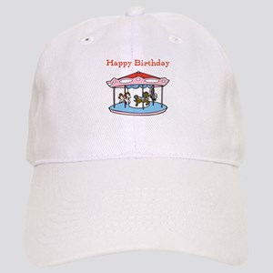 Happy Birthday. Carousel Cap
