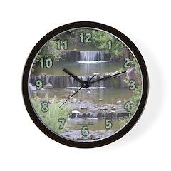 Mini Waterfalls Wall Clock