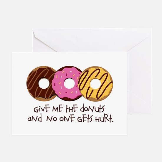 I love donuts! Greeting Card