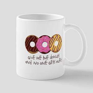I love donuts! Mug