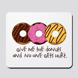 I love donuts! Mousepad