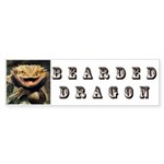 Bearded Dragon Sticker (Bumper 50 pk)