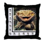 Bearded Dragon Throw Pillow