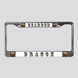Bearded Dragon License Plate Frame