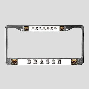 Bearded Dragon License Plate Frame