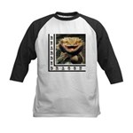 Bearded Dragon Kids Baseball Jersey