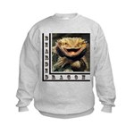 Bearded Dragon Kids Sweatshirt