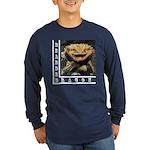 Bearded Dragon Long Sleeve Dark T-Shirt
