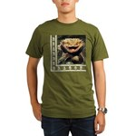 Bearded Dragon Organic Men's T-Shirt (dark)