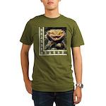 Bearded Dragon Organic Men's T-Shirt (dark)