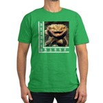 Bearded Dragon Men's Fitted T-Shirt (dark)