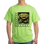 Bearded Dragon Green T-Shirt