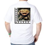 Bearded Dragon Golf Shirt