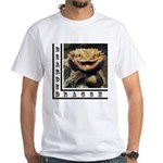 Bearded Dragon White T-Shirt