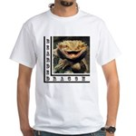 Bearded Dragon White T-Shirt