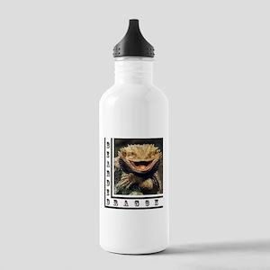 Bearded Dragon Stainless Water Bottle 1.0L