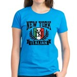 New York Italian Women's Dark T-Shirt