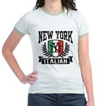 New York Italian Jr. Ringer T-Shirt