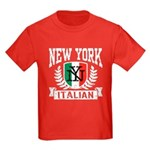 New York Italian Kids Dark T-Shirt