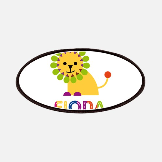 Fiona the Lion Patches