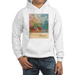 """Power of the Flower""(TM) Hooded Sweatshirt"