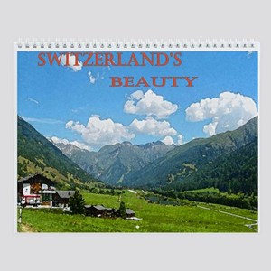 Switzerland's Beauty Wall Calendar