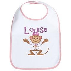 Little Monkey Louise Bib