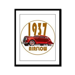 The 1937 Flow Framed Panel Print